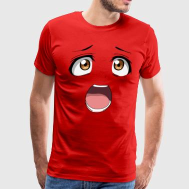 Anime scream - Men's Premium T-Shirt