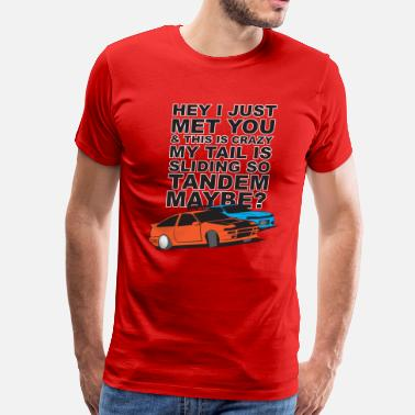 240sx Tandem Maybe - Men's Premium T-Shirt