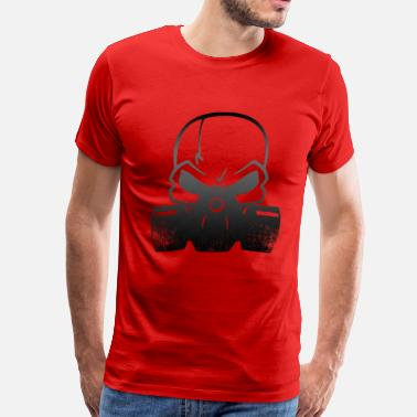 Bad Breaking Heisenberg skullmask - Men's Premium T-Shirt