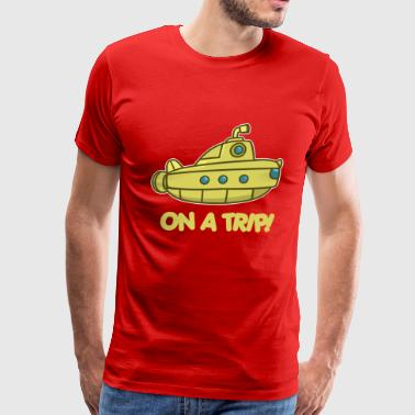 on a trip - submarine - Men's Premium T-Shirt