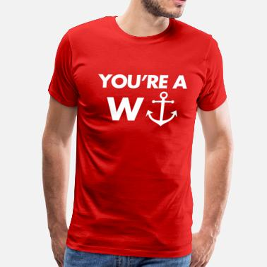 W Anchor W-Anchor - Men's Premium T-Shirt