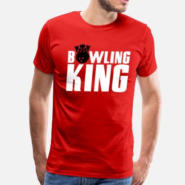 King Of Bowling Bowling King - Men's Premium T-Shirt