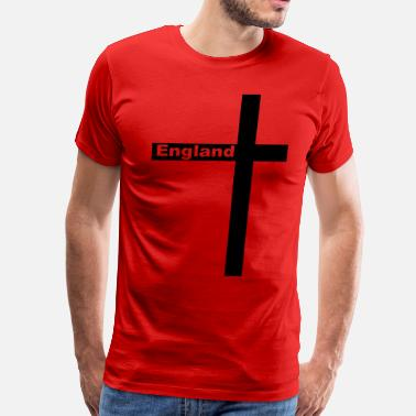St George Cross England Cross of St George - Men's Premium T-Shirt