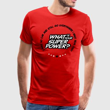 What's your superpower? - Men's Premium T-Shirt