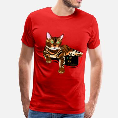 Cherish Tabby Cat Beauty - Men's Premium T-Shirt