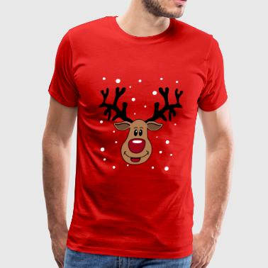 Rudolph The Red-nosed Reindeer Rudolf 2 - Men's Premium T-Shirt