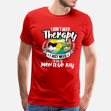 43f5a89a Montego Therapy Montego Bay - Men's Premium T-Shirt