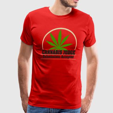 Cannabis Judge - Men's Premium T-Shirt