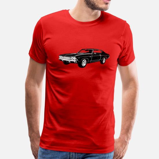 1969 Chevrolet Chevelle 396 SS Men's Premium T-Shirt   Spreadshirt