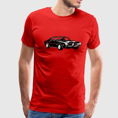 Pontiac Firebird 1970 Pontiac Firebird 400 Ram Air - Men's Premium T-Shirt