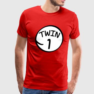 Twin 1 shirt - Men's Premium T-Shirt