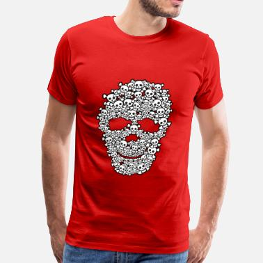 Cute Skull Cute Skull Of Skulls - Men's Premium T-Shirt