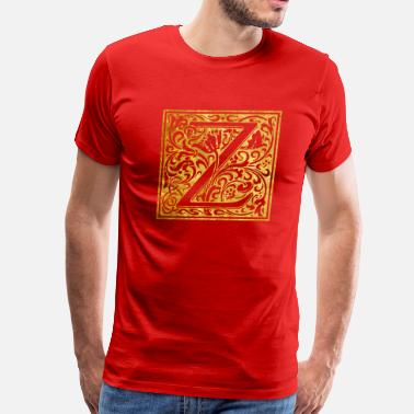 Z House Initials-Z - Men's Premium T-Shirt