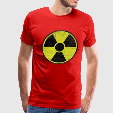 Dirty Radioactive Sign - Men's Premium T-Shirt