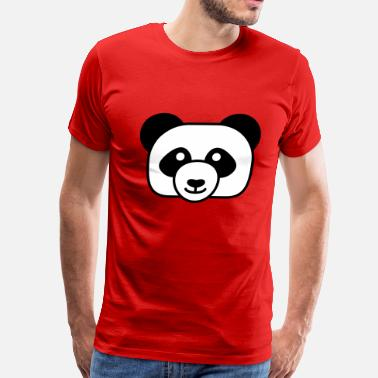 Kid Friendly Friendly Panda - Men's Premium T-Shirt