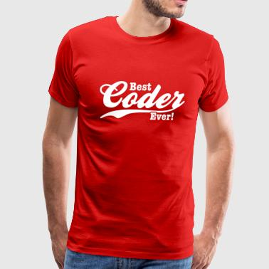 Coders coder - Men's Premium T-Shirt