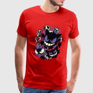Ghastly Haunting Ghouls - Men's Premium T-Shirt