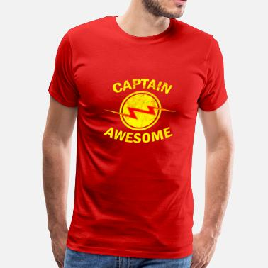 Captain Awesome Captain Awesome - Men's Premium T-Shirt