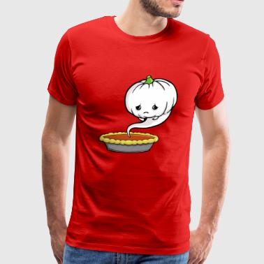 The Sad Pumpkin Funny T Shirt - Men's Premium T-Shirt