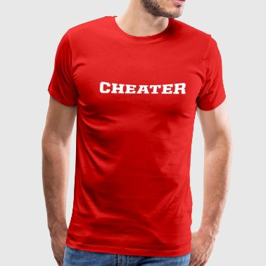 cheater - Men's Premium T-Shirt