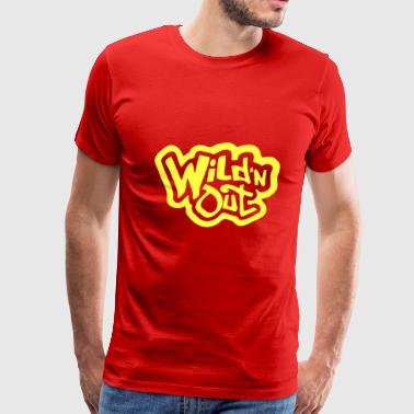 wild and out - Men's Premium T-Shirt