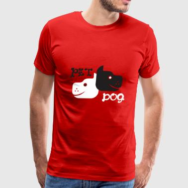 Pet Dog - Men's Premium T-Shirt