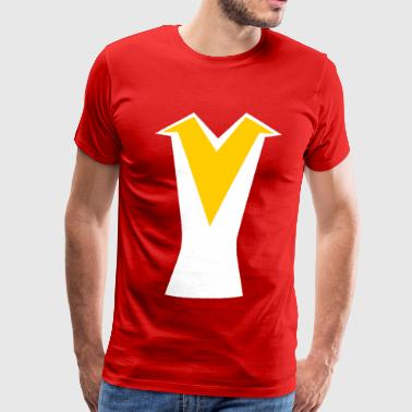 Daimos Voltes V Uniform - Men's Premium T-Shirt