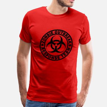 Team Zombie Zombie Outbreak Response Team - Men's Premium T-Shirt