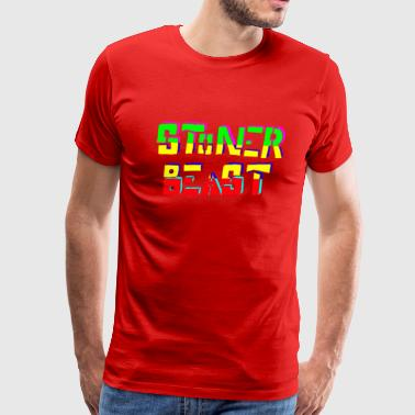 StonerBeast Rasta - Men's Premium T-Shirt