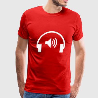Earphone - Men's Premium T-Shirt