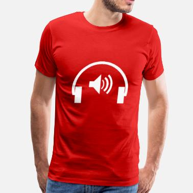 Earphones Earphone - Men's Premium T-Shirt
