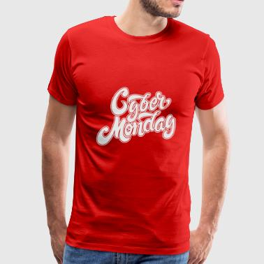 Cyber Monday Hand Drawn - Men's Premium T-Shirt