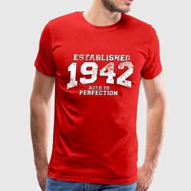 established_1942 - Men's Premium T-Shirt