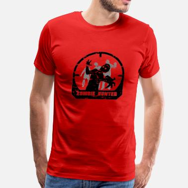 Zombie Hunter zombie hunter black - Men's Premium T-Shirt