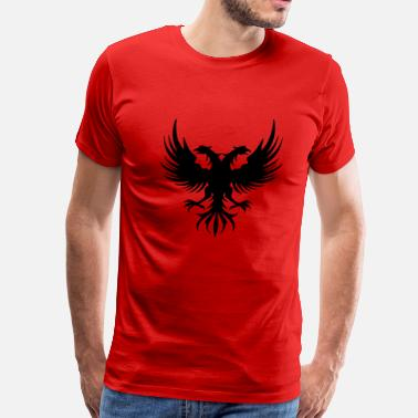 Albanian Eagle Design Style Albanian Eagle - Men's Premium T-Shirt