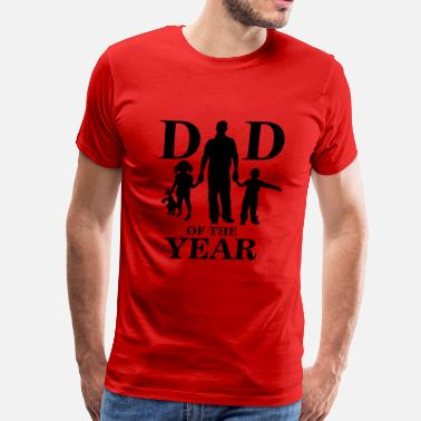 Dad Of The Year Dad of the year - Men's Premium T-Shirt