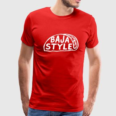 Taco Jokes Baja Style - Men's Premium T-Shirt