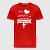 Тaekwondo Lover Cool Birthday Gift-Heart Belongs - Men's Premium T-Shirt