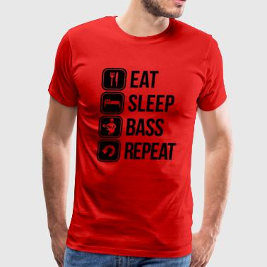 bass guitar - Men's Premium T-Shirt