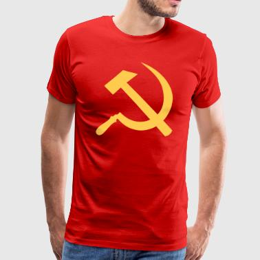 Communist Hammer And Sickle Hammer Sickle Communist - Men's Premium T-Shirt