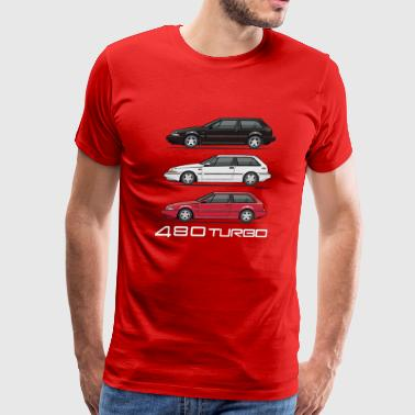 Stack of  480 Turbos - Men's Premium T-Shirt