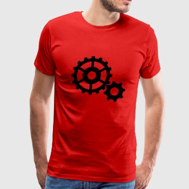 Cog Mechanic gears cogs - Men's Premium T-Shirt
