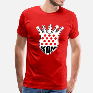 King of the Mountain KOM Tour de France - Men's Premium T-Shirt