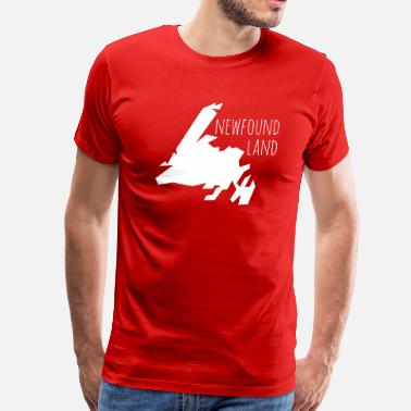 Newfoundland Map newfoundland - Men's Premium T-Shirt