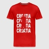 Basketball Croatia - Men's Premium T-Shirt