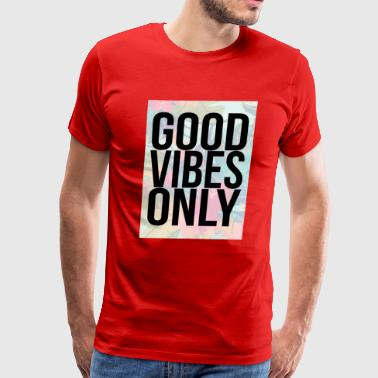 good vibes only tropical - Men's Premium T-Shirt