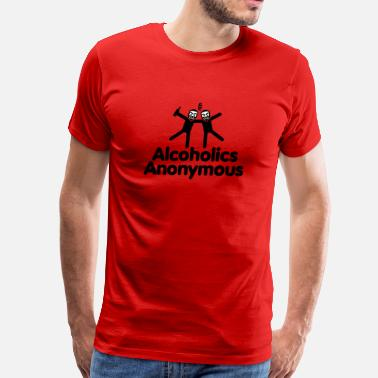 Alcoholic Anonymous Alcoholics Anonymous - Men's Premium T-Shirt