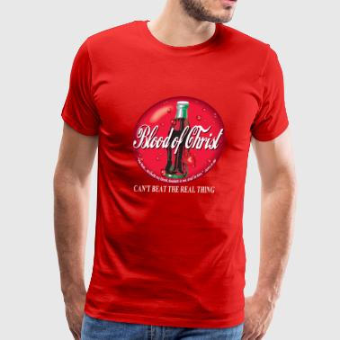 The Blood Of Christ Blood of Christ by GP Wear - Men's Premium T-Shirt