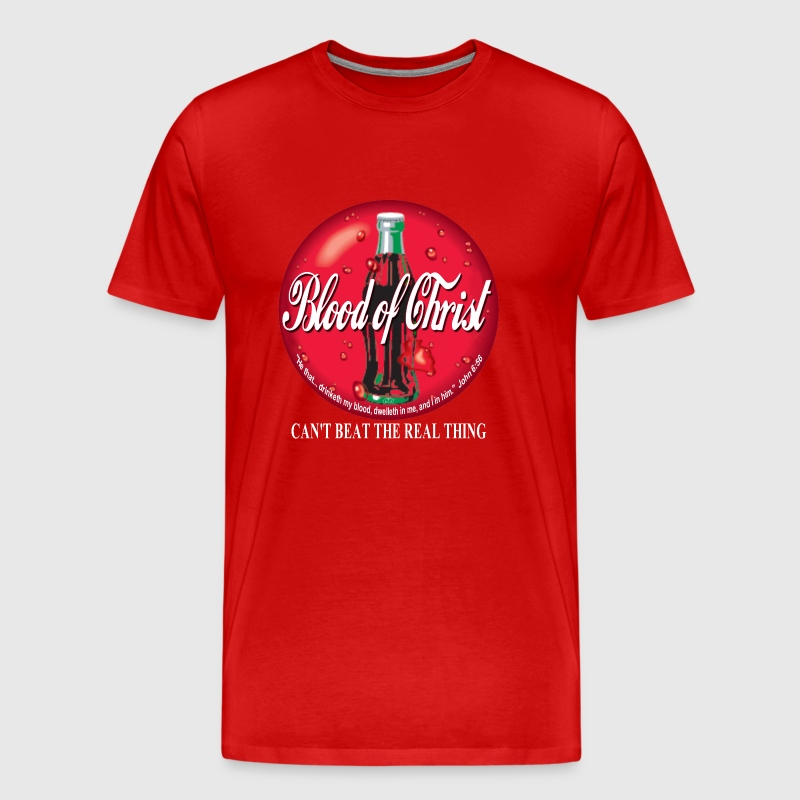 Blood of Christ by GP Wear - Men's Premium T-Shirt