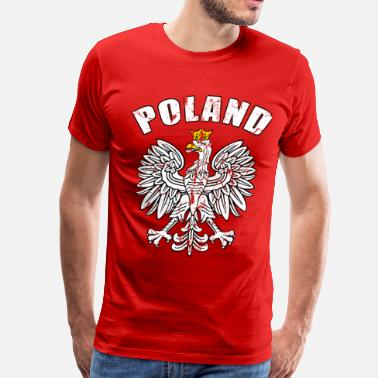 Polska poland coat of arms - Men's Premium T-Shirt